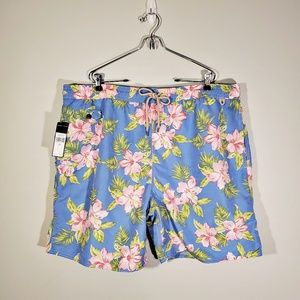 Polo by Ralph Lauren Tropical Men's Swim Trunks
